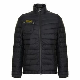 Barbour International Chain Quilted Baffle Jacket