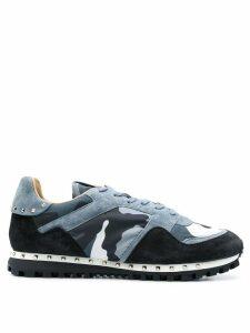 Valentino Valentino Garavani camouflage Rockrunner sneakers - Blue