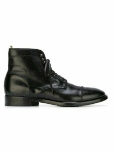 Officine Creative lace-up boots - Black