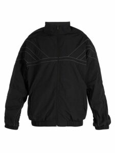 Y/project - Oversized High Neck Shell Jacket - Mens - Black