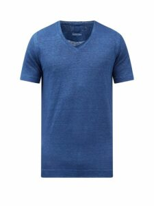 Lanvin - Straight Leg Cotton Trousers - Mens - Grey
