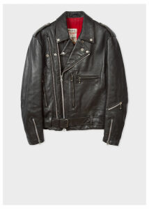 Robert Del Naja Custom Leather Jacket