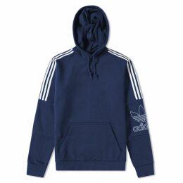 Adidas Outline Hoody Collegiate Navy