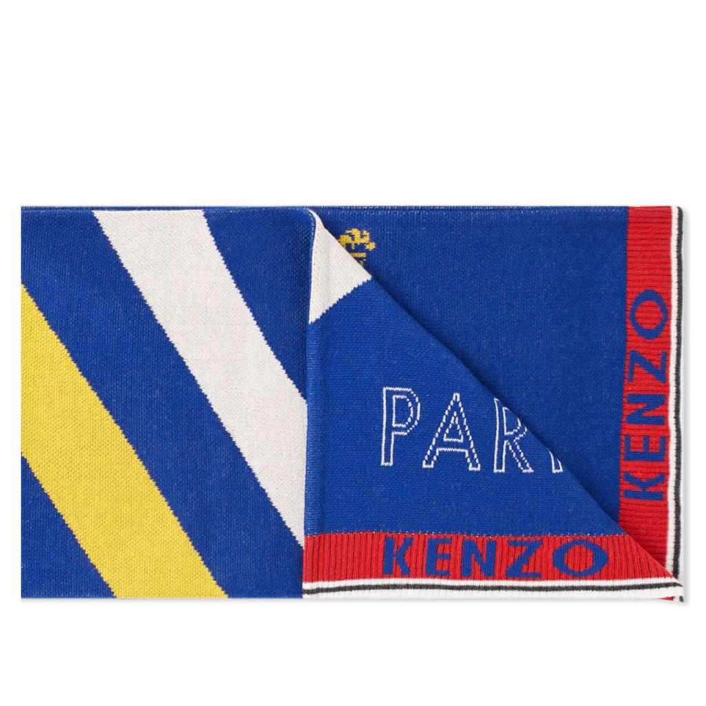 Kenzo Football Scarf Blue & Red