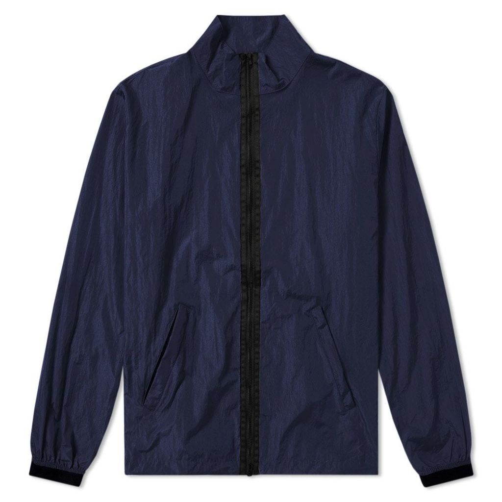 MKI Nylon Full Zip Jacket Navy