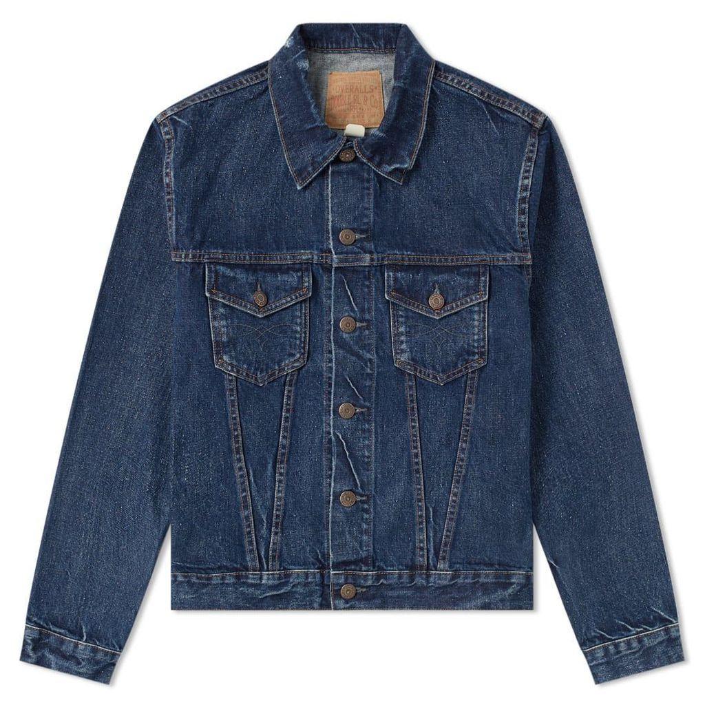 RRL 3rd Edition Denim Jacket Stilwell Wash