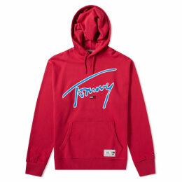 Tommy Jeans Signature Hoody Cerise