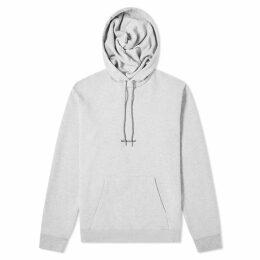 Saint Laurent Archive Logo Hoody Grey