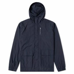 Wood Wood Clayton Hooded Jacket Navy