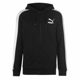 Puma T7 Logo Zipped Hoodie