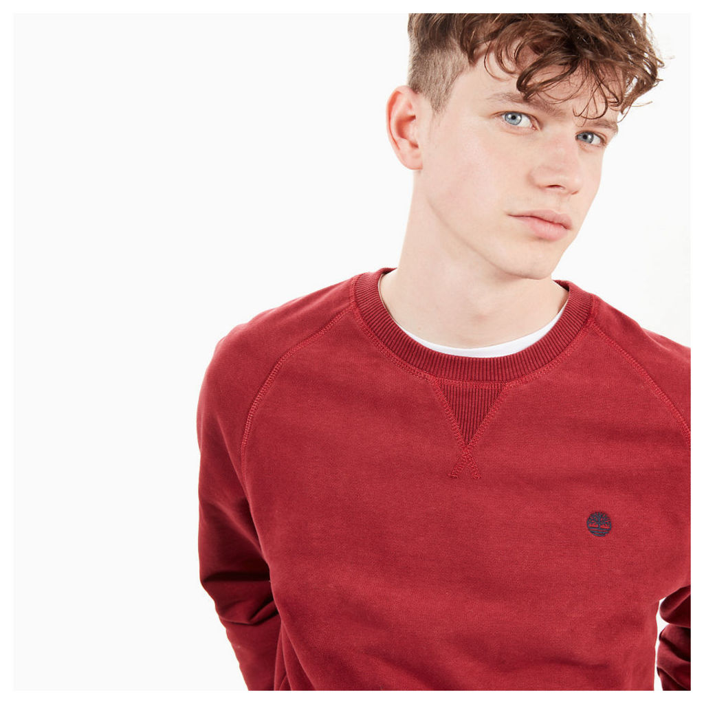 Timberland Exeter River Sweatshirt For Men In Red Red, Size S