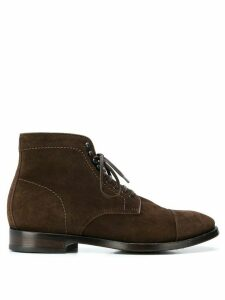 Officine Creative lace-up ankle boots - Brown