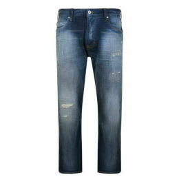 Emporio Armani Distressed Jeans