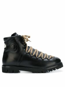 Bally Chack lace-up boots - Black