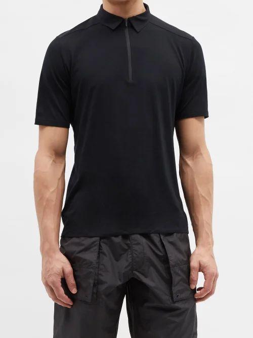 Balenciaga - Mid Rise Straight Leg Cotton Chino Trousers - Mens - Black