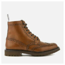 Church's Men's Mc Farlane 2 Grained Leather Lace Up Boots - Walnut