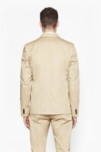 Sander Cotton Slim Jacket - sand