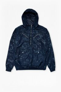 Lawson Marble Hooded Jacket - marine blue
