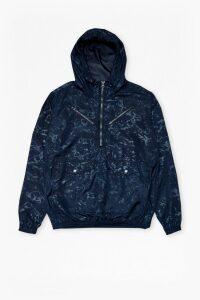 Lawson Marble Hooded Jacket - marine blue