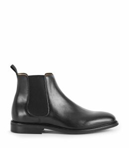 Reiss Tenor - Leather Chelsea Boots in Black, Mens, Size 12
