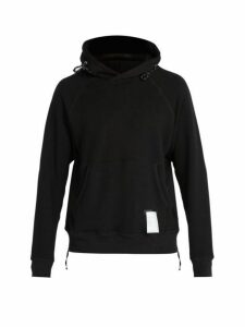 Satisfy - Jogger Cotton Hooded Sweatshirt - Mens - Black