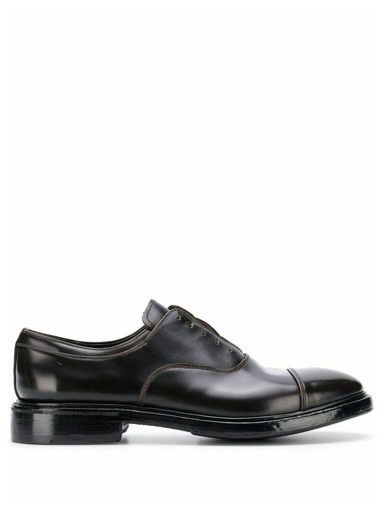 Premiata derby shoes - Brown