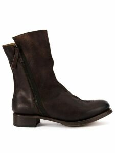 Cherevichkiotvichki leather panel boots - Brown