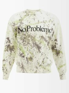 Gucci - Side Stripe Tiger Appliqué Track Pants - Mens - Grey