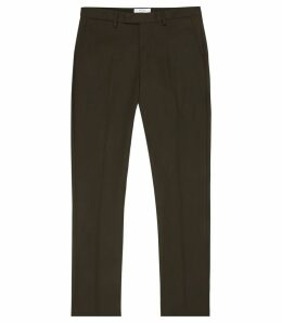 Reiss Westbury Slim - Slim Fit Chinos in Emerald, Mens, Size 38L