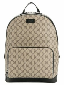 Gucci GG Supreme backpack - Brown