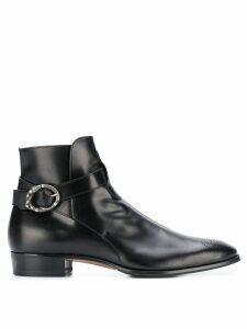 Gucci Guccy Plata boots - Black
