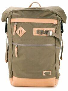 As2ov Ballistic nylon roll backpack - Green