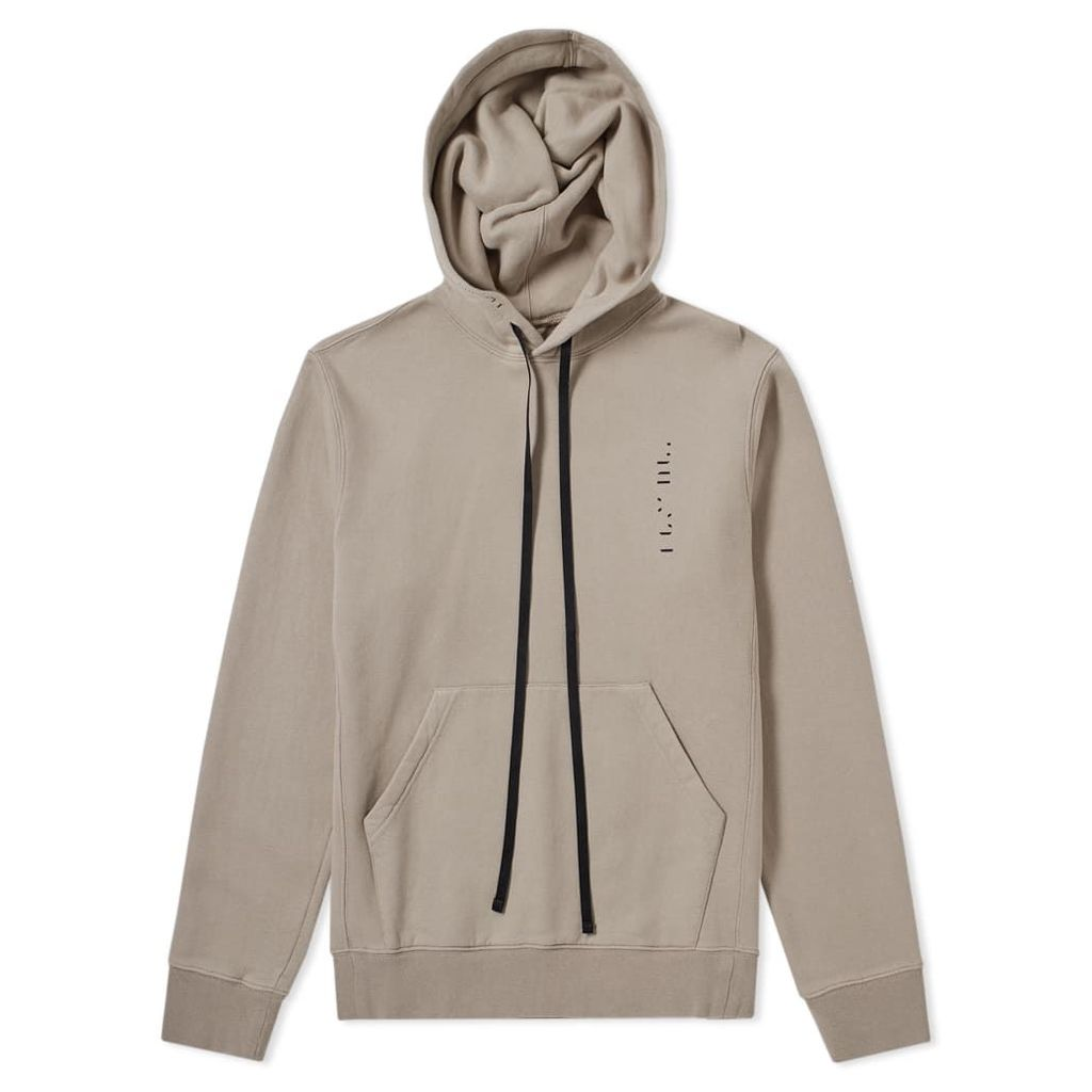 Unravel Project Create Logo Popover Hoody Taupe & Black