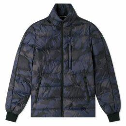 Valentino Camo Down Jacket Black & Grey Camo