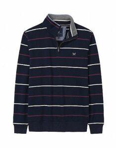 Classic Half Zip Sweatshirt in Dark Navy