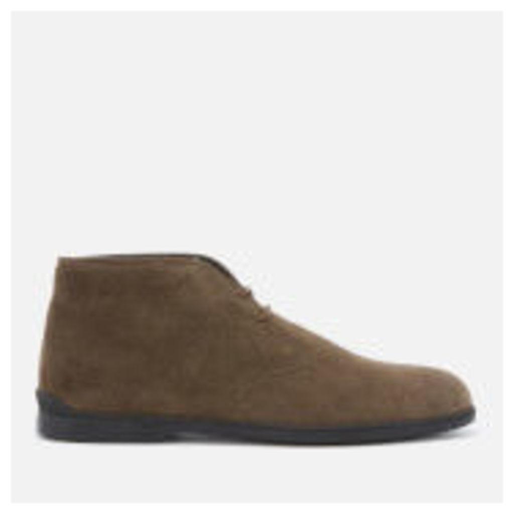 Tod's Men's Desert Boots - Brown/Green - UK 11 - brown/green