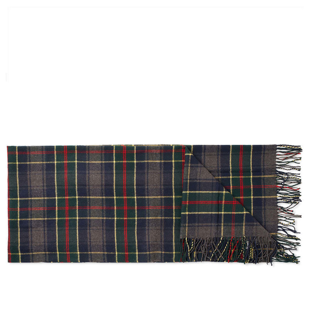 Barbour Fulmar Scarf Blue Check