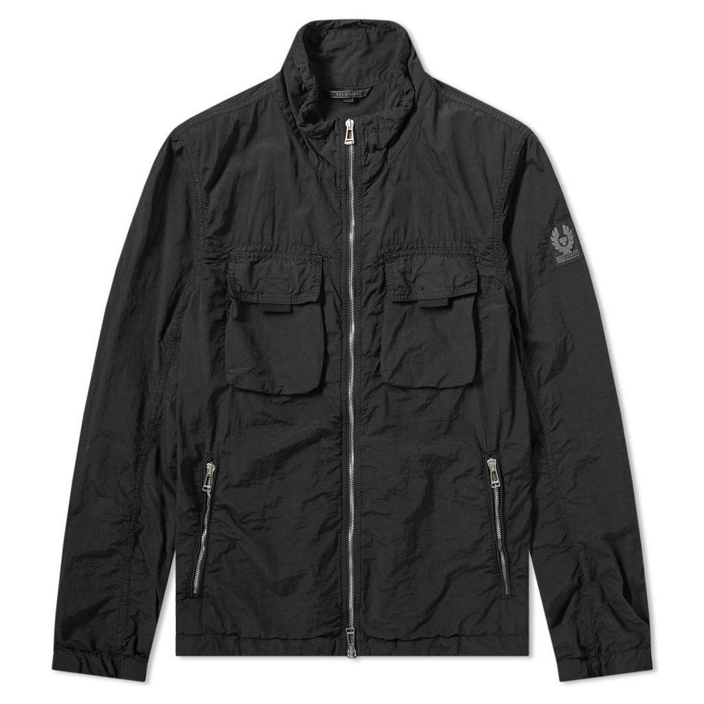 Belstaff Pandeen Garment Dyed Zip Blouson Black