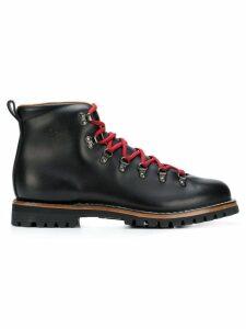 Car Shoe lace-up boots - Black