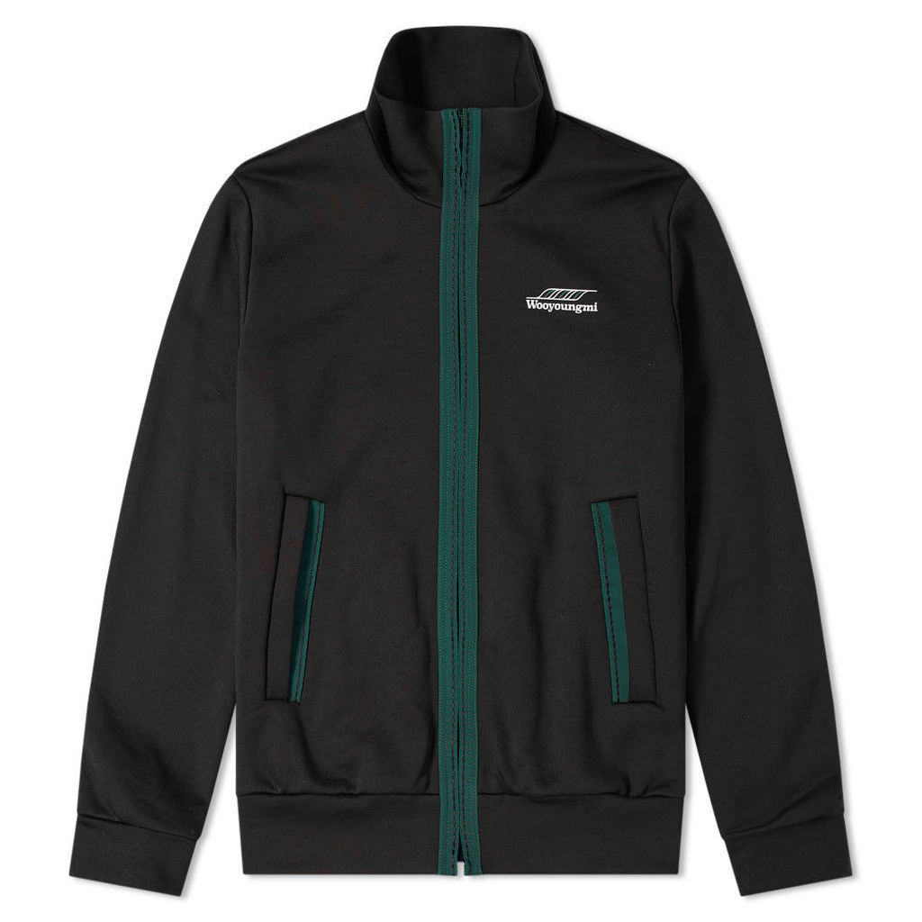 Wooyoungmi Logo Track Jacket Black