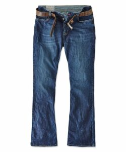 Belting Bootcut Jeans