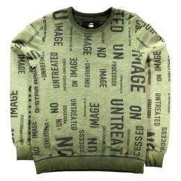 G Star Letter Sweatshirt