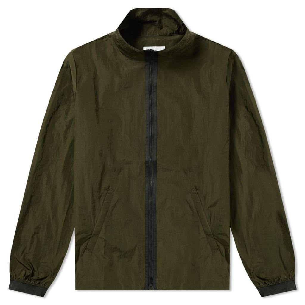 MKI Nylon Full Zip Jacket Olive