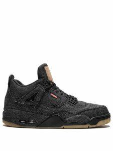Jordan Nike x Levi's Air Jordan 4 Retro sneakers - Black