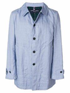 Comme Des Garçons Pre-Owned midi oversized jacket - Blue