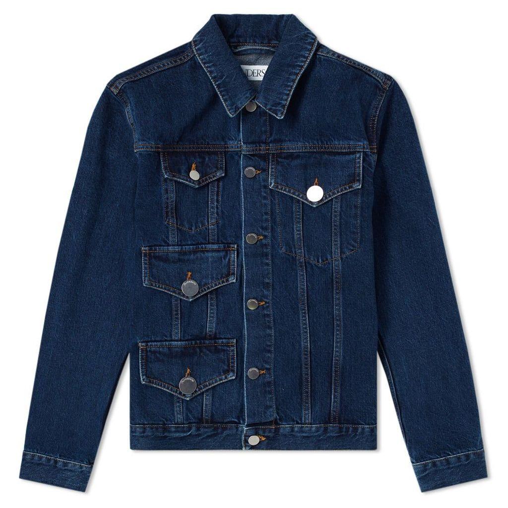 JW Anderson Denim Multipocket Jacket Indigo