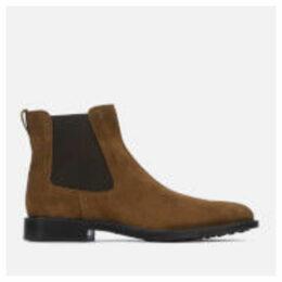 Tod's Men's Suede Chelsea Boots - Brown