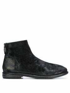 Marsèll back zip Chelsea boots - Black