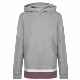 Marni Tape Hem Hooded Sweatshirt