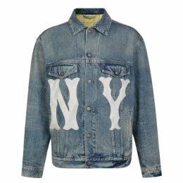 Gucci Ny Yankees Denim Jacket
